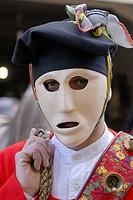 Canival with ´mamuthones´ mask, Mamoiada. Nuoro province, Sardinia, Italy