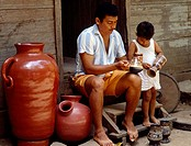 Guaitil pottery making community. Nicoya peninsula, Costa Rica