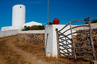Tramuntana Windmill. Es Mercadal. Minorca. Balearic Islands. Spain