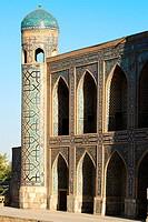 The Tilla Kari Madrasah, Registan Square, Samarkand, Uzbekistan