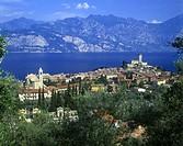 Malcesine, Lake garda, Italy.