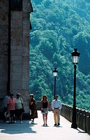 People, in, Covadonga, Asturia, Spain