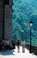 People, in, Covadonga, Asturia, Spain