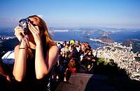 Tourists. Rio de Janeiro. Brazil