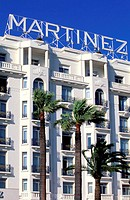 France, Alpes-Maritimes (06), Cannes, Martinez Hotel (palace hotel on the Croisette)