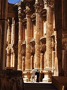 Couple at Baalbek, Lebanon
