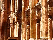 inside Temple of Jupiter, Baalbek, Lebanon