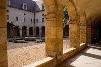 Courtyard in Dijon