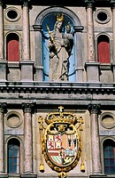 Belgium, Antwerp (Antwerpen), Town Hall, the front