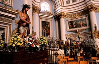 Malta, Easter and the Holy Week, Mosta church