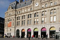France, Paris (75), Gare Saint Lazare train station