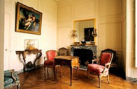 France, Yvelines (78), Château de Versailles, inner room of Madame de Pompadour