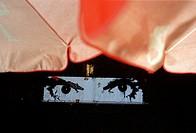 France, Seine-Saint-Denis (93), international festival Kosmopolite 2004, graffiti at Bagnolet