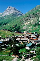 France, Savoie (73), Val d´Isere village