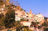 France, Alpes-Maritimes (06), Eze village, one of the Most Beautiful Villages of France