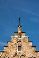 Gabled building, Bruges, Flanders, Belgium