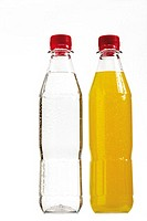 Two bottles of soft drink