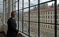 italy, biella, pria wool industry, luciano donatelli, president of the museo del territorio di biella