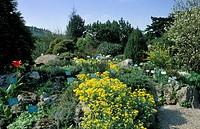 alpine botanical garden, vienna, austria