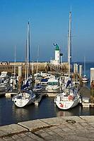 France, Charente-Maritime (17), Ile de Ré, La Flotte marina