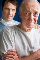 Surgeon and Elderly Patient