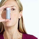 Woman Using Inhaler (thumbnail)