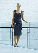 Businesswoman, full length