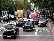 Traffic, London, England