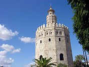 Torre del oro (Gold Tower), Seville, Andalusia, Spain