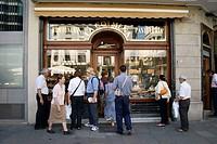 ´La Colmena´ pastry shop. Plaça de l´Àngel, Gothic Quarter, Barcelona