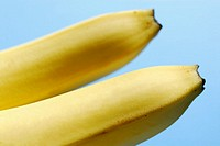 Close-up of two bananas
