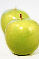Close-up of green apples