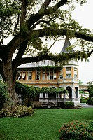 View of Victorian mansion, Port of Spain, Trinidad