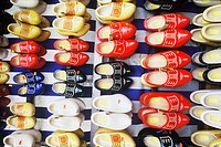 Clogs in a store, Amsterdam, Netherlands