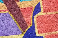 Close-up of a painted wall