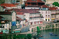 Buildings at the waterfront, Oporto, Portugal