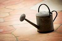 Watering Can on Patio