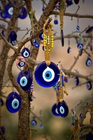 Turkey, ´evil eye´ charm souvenirs