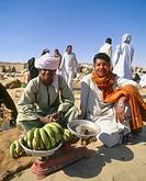 Market, Aswan. Nubia, Egypt