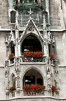 New, Town, Hall, Marienplatz, Munich, Bavaria, Germany, New, City, Hall