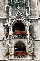 New, Town, Hall, Marienplatz, Munich, Bavaria, Germany, New, City, Hall