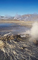 Tatio Geisers in the Atacama Desert Chile