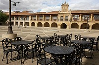 Town hall. Plaza Mayor. Santo Domingo de la Calzada, La Rioja. Spain.