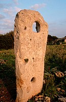 Prehistoric monument. Minorca, Balearic Islands, Spain