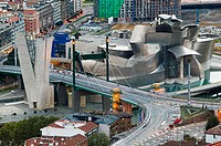 Guggenheim Museum by Frank O. Gehry, Bilbao. Biscay, Euskadi, Spain