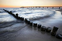 Baltic Sea. Usedom. Mecklenburg-Western Pomerania. Germany