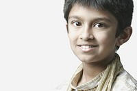 Portrait of a boy smiling (thumbnail)