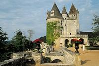 France, Périgord, Milandes, Castle