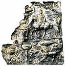 Kunst, Epochen, Antike, Römisches Reich, Relief, reitender Mithras, getriebenes Silberblech, ca. 3. Jh. n.Chr., Kunsthandwerk, Religion, Mithraskult, ...