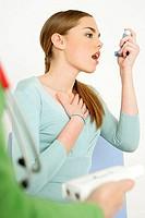 ASTHMA,WOMAN<BR>Models